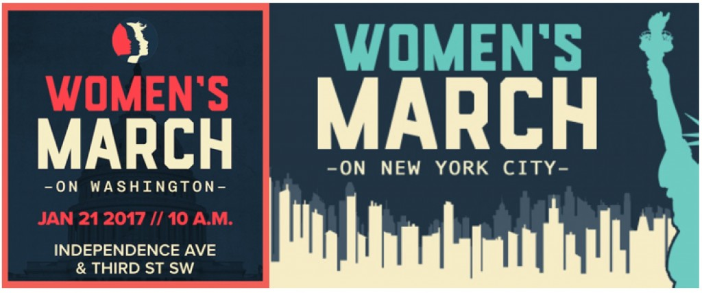 Women's march for site